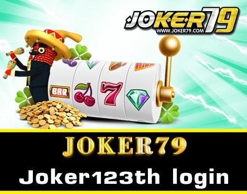 Joker123th login